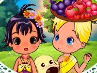 小姐妹的非洲之旅,Cute Tropical Sisters