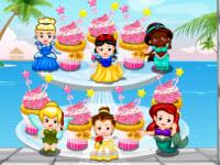 迪士尼公主杯子蛋糕,Disney Princess Cupcake