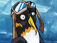 Скачать флеш игру Упряжка пингвинов.