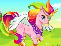 美麗的獨角獸,Rainbow Unicorn