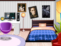 超級粉絲的房間,Robert Pattinson Fan Room