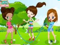 Rope Skipping Dressup