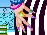 春天的指甲彩繪,Spring Manicure